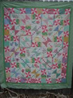 Birds and Blooms Quilt Pattern
