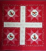 Oh, It's Frosty Quilt Pattern by Turnberry Lane Patterns, Owasso, OK