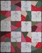 Snow Crazy Quilt Pattern by Turnberry Lane Patterns
