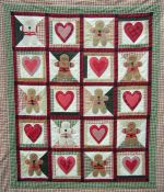Sweet Gingers Quilt Patterns by Jana Davidson, Owasso, OK