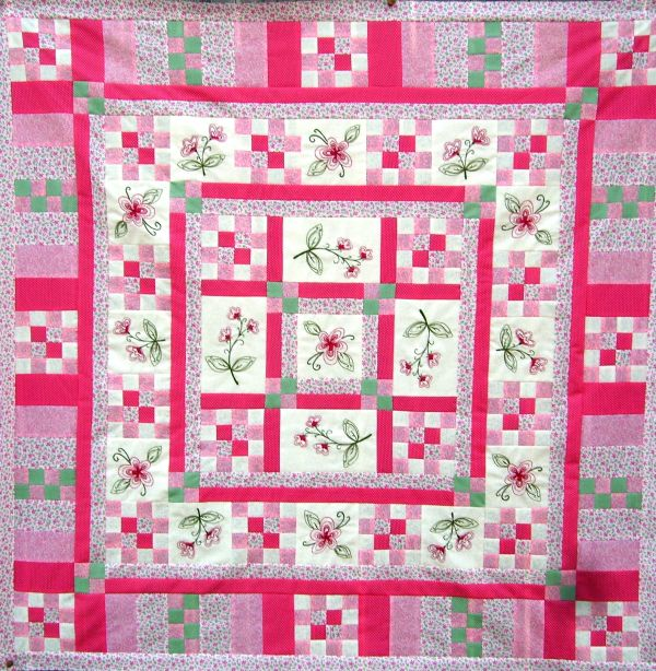 Quilt Patterns For A Girl : Hand Embroidery quilt patterns to make beautiful gifts and family heirlooms-Turnberry Lane