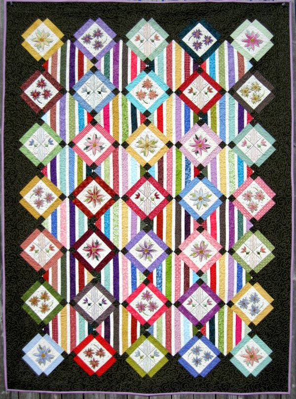 Turnberry Lane Machine Embroidery patterns, table runners, quilts ... : quilt embroidery patterns - Adamdwight.com