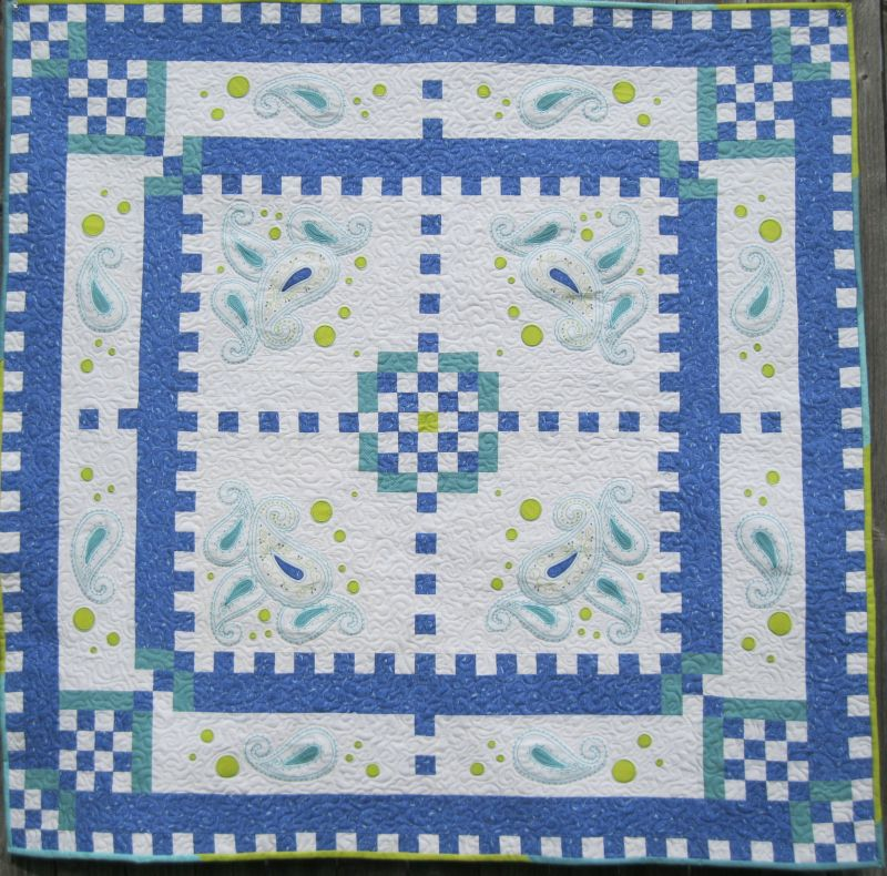 machine embroidered quilts patterns