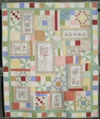 Hand Embroidery Quilt Patterns To Make Beautiful Gifts And