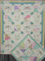 Dragonfly Crazy Hand Embroidery from Turnberry Lane Patterns